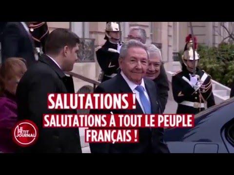 En la televisión francesa se burlan del nieto de Raúl Castro