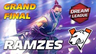 Ramzes Anti Mage GRAND FINAL | VP vs VG | DreamLeague Dota 2