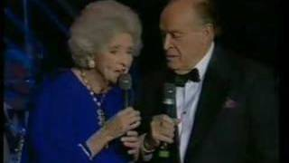 Bob Hope and Dolores Hope in England 1994