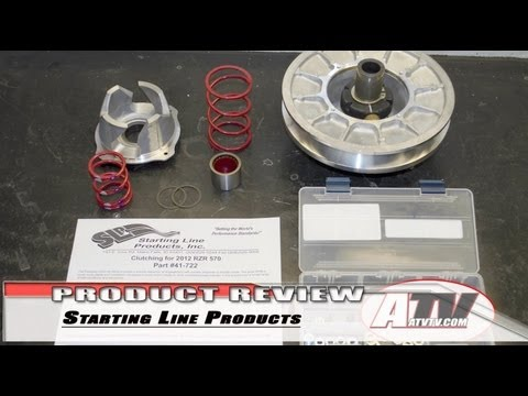 Polaris RZR CVT Clutch Modifications by SLP - ATVTV Product Review