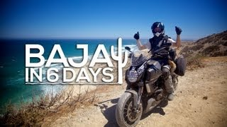 Baja in 6 days – Ducati Diavel Strada – MotoGeo Adventures