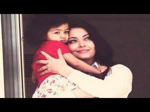 Aishwarya Rai Bachchan with Aaradhya Bachchan @ Cannes 2013