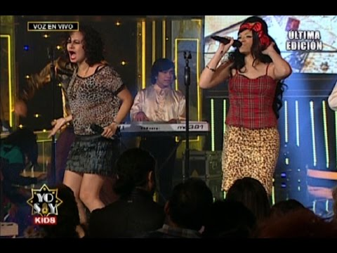 Yo Soy Kids: Adalí Montero y Amy Winehouse interpretaron tema de Queen