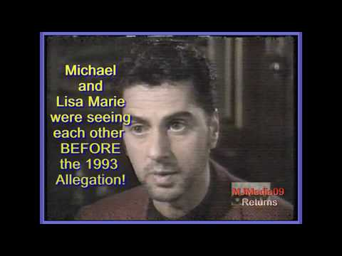 1995 Michael and Lisa Marie Marriage from Randy T.