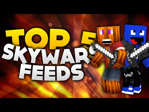 Minecraft - Top 5 Sky Wars Feeds! | DieBuddiesZocken