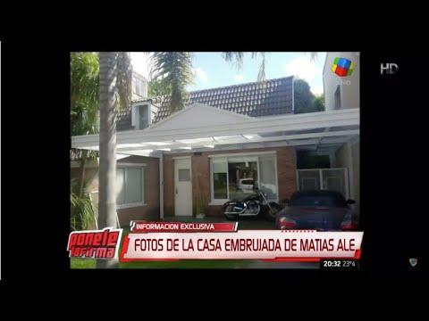 La casa embrujada de Matías Alé