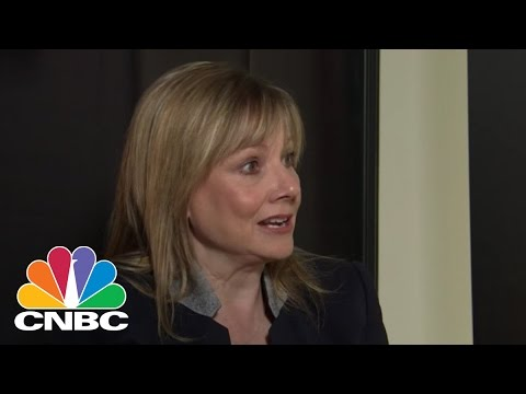 GM's Mary Barra On Cars Of The Future | Squawk Box | CNBC