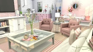 The Sims 4: Speed Build // BARBIES DREAM APARTMENT + CC LINKS