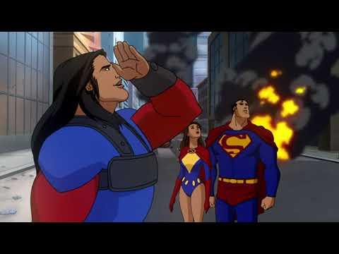 Супермен и Лоис встречают Самсона и Атласа