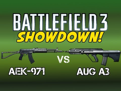 BF3 Showdown - AEK-971 vs AUG A3