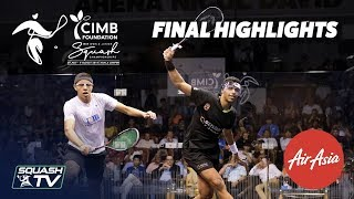 Squash: Asal V El Sirty - WSF World Junior Champs 2019 Men's Final Highlights