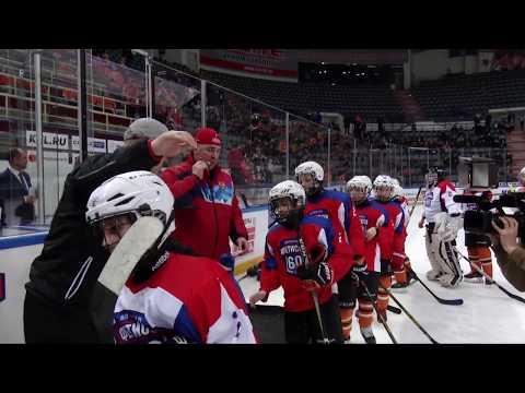 Легенды мирового хоккея в Хабаровске