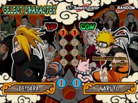 Naruto Shippuden - Ultimate Ninja 4 ROM (ISO) Download for ...