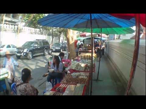 Must See Bangkok Worlds Largest Amulet Market, Thailand.wmv