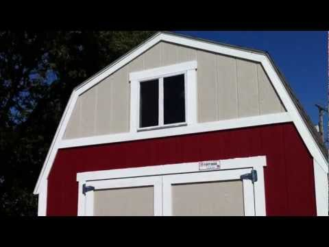 Tuff Shed Barn Walkthru