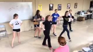 Wizard of Oz munchkin dance