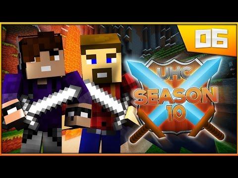 Minecraft: Cube UHC Season 10: Episode 6 FIRST BLOOD