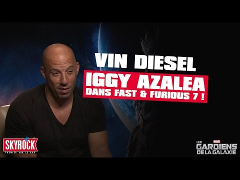 [ Exclu ] Vin Diesel announce Iggy Azalea joins Fast  & Furious 7 casting !