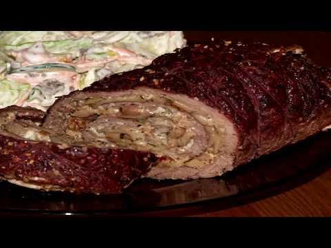 Как приготовить фаршированное мясо - видео