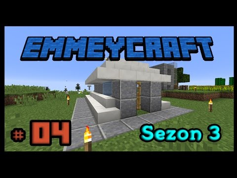 Minecraft Survival : EmmeyCraft Sezon 3 [ Türkçe ] # 04 - Oto Balik Farmi