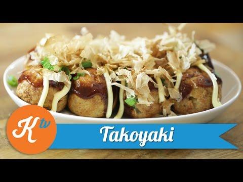 how to make takoyaki flour