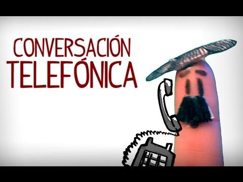 Conversacion De Telefono, Aprender Español Conversación
