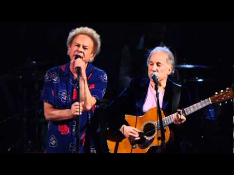 Simon & Garfunkel singing Sounds of Silence 52 years after it was released