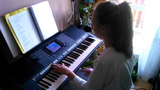 Long & Junior - Kolorowa Sukienka (cover) YAMAHA PSR S 750
