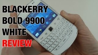 Blackberry Bold 9900 White Review