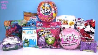 PIKMI POPS LOL GLAM Glitter Surprise Dolls Lost Kitties Trolls Blind Bags Toys Unboxing FUN