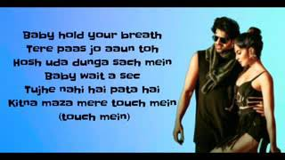 Bad boy Lyrics ll Saaho ll Badshah &Neeti Mohan.