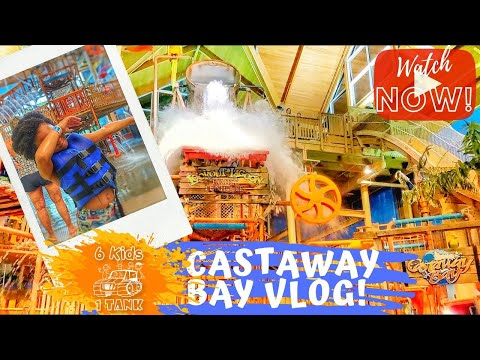 CASTAWAY BAY SANDUSKY OHIO INDOOR WATERPARK  / Cedar Point
