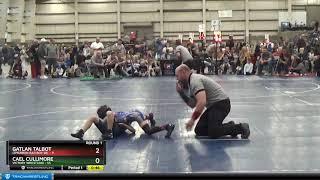TB 8U 48-49 Gatlan Talbot Cimarron Bad Boy WC Vs Cael Cullimore Victory Wrestling