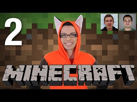 Multiplayer Minecraft - Part 2 (w/ James & Chrillsims3)