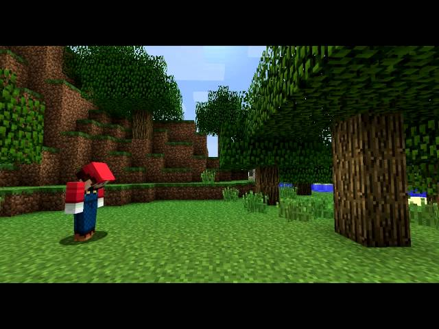If Video Games Were In Minecraft (ItsJerryAndHarry)