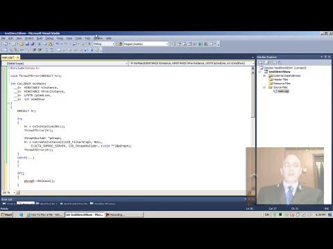 DirectShow Programming 04