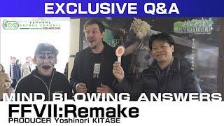 FINAL FANTASY VII Remake Producer Q&A