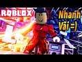 Roblox - Mình Chạy Nhanh Như Người Hùng Tia Chớp The Flash Haha - Sprinting Simulator 11