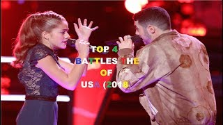 TOP 4 BATTLES THE VOICE OF USA (2018)