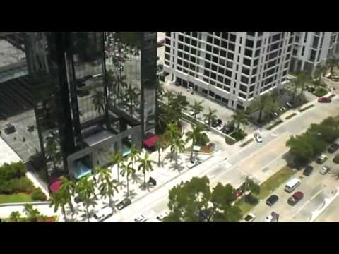 Schindler Scenic Elevators at 1221 Brickell Avenue Miami