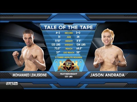 Fight of the Week Vicious Elbow  Jason Andrada vs Mohammed Lemjerdine Lion Fight 12