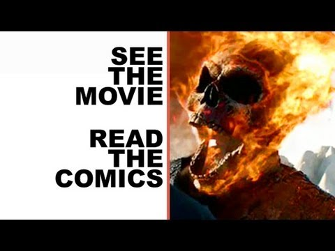 Ghost Rider 2 Review - The Comics!  See Ghost Rider 2. read the Marvel Comics!