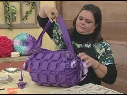 ARTE BRASIL - VALÉRIA SOARES - BOLSA 2 EM 1 EM CAPITONÊ (02/06/2011 - Parte 2 de 2)