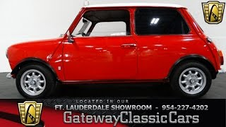 1974 Austin Morris Mini 850 - Gateway Classic Cars of Fort Lauderdale #109
