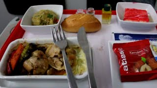 Atlasjet Bussines Class Flight Report : Istanbul-Cyprus Airbus A321-200 1080pHD SamyTravels