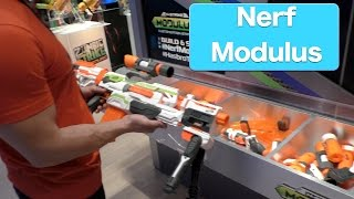 NERF N-STRIKE MODULUS ECS-10 Blaster And Expansion Kits, First Look Toy Fair 2015