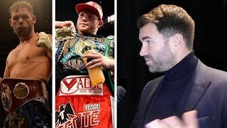 Eddie Hearn: We'll NEVER KNOW TRUTH if Canelo & Billy Joe Saunders CHEATED!