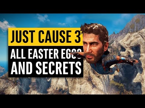 Just Cause 3 | All Secrets and Easter Eggs