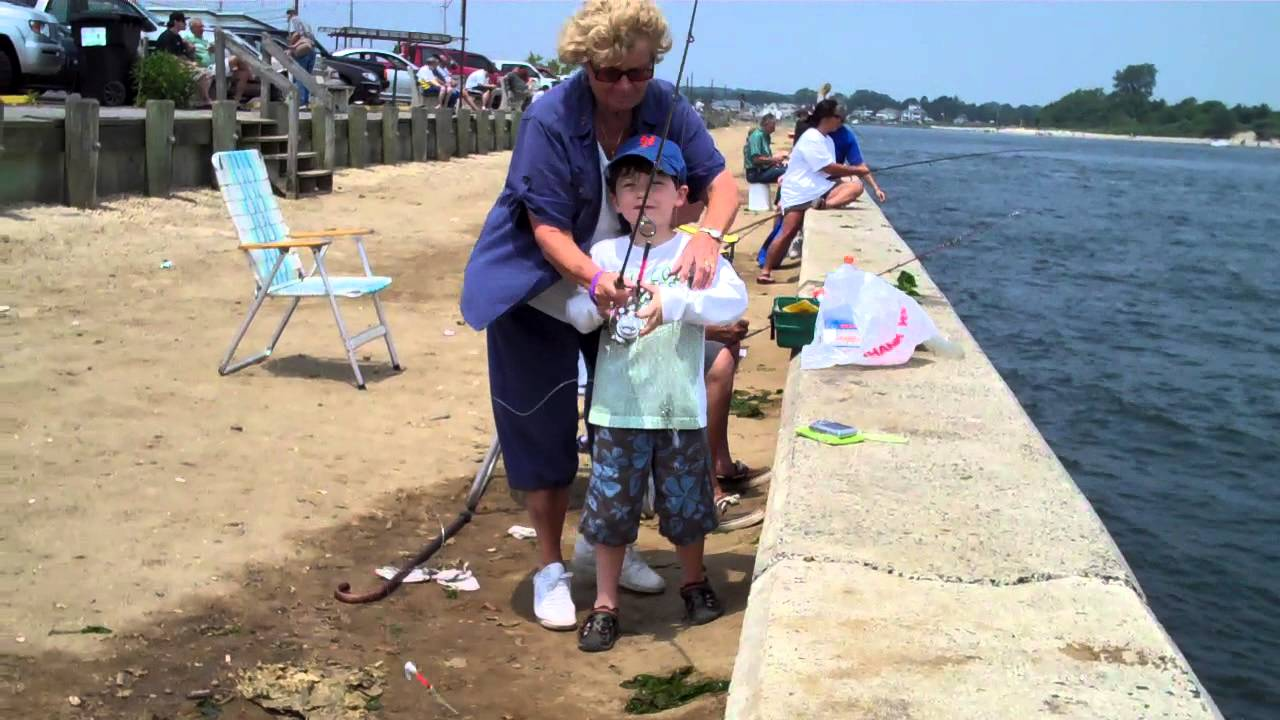 Fishing in point pleasant youtube for Point pleasant fishing report