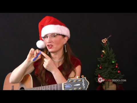 Jingle Bells Guitar Lesson - Christmas - Acoustic Guitar Lesson - Guitar Tricks 34